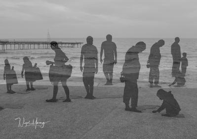 Shadowy figures