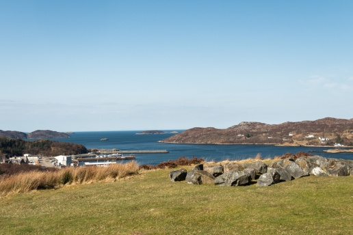 Lochinver from Inver Lodge
